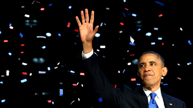 essay barack obama victory speech Analysis of barack obama's victory speech 2012 obama starts off by including the people he speaks out to every american, incorporates the people, and thanks them.