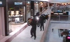CCTV footage from the Brent Cross shopping centre shows a six-strong gang of jewellery thieves