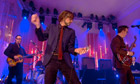 Jarvis Cocker performing at Other Voices festival