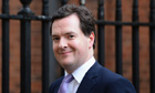 Britain's Chancellor of the Exchequer George Osborne leaves Downing Street