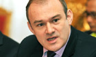 Ed Davey at Clarence House in November