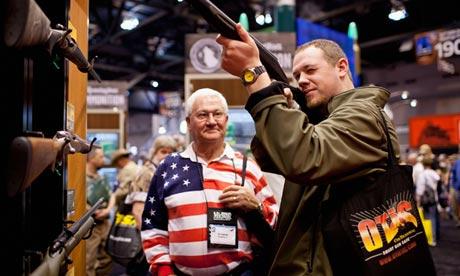 NRA gun show, St Louis