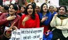 Indians protest in New Delhi against gang rape of student