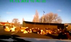 A truck carrying a load of cows crashing in the Krasnodar region in southern Russia