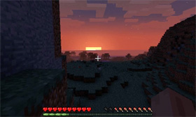 A still from video game Minecraft