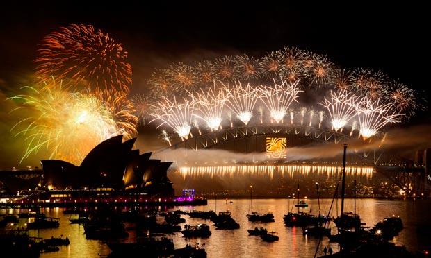 sydney fireworks 2012.