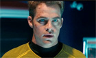 Chris Pine in a still from Star Trek Into Darkness