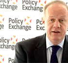Immigration minister Damian Green speaking at the Policy Exchange in London
