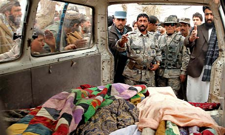 Afghanistan civilian caualties