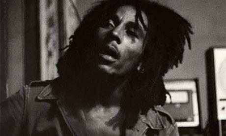 Raggae musician Bob Marley