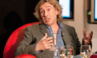 Steve Coogan in conversation with Alan Rusbridger at the Guardian Open Weekend
