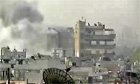 Homs Syria shelling