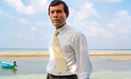 Still from The Island President