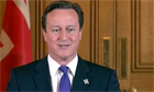 The prime minister, David Cameron