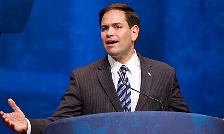 Florida senator Marco Rubio