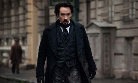 John Cusack as Edger Allen Poe in The Raven