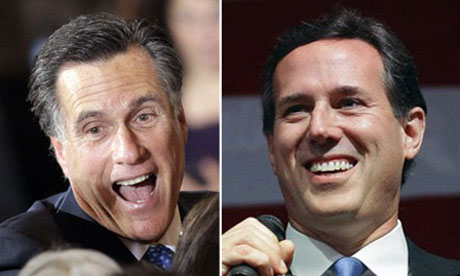 Ohio goes to the wire as Romney and Santorum split Super Tuesday spoils