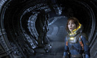 Noomi Rapace in a still from Ridley Scott's Prometheus