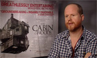 Joss Whedons talks about making The Cabin in the Woods