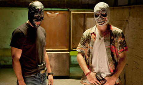 Taylor Kitsch and Aaron Johnson in Oliver Stone's Savages