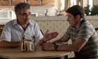 Eugene Levy and Jason Biggs in American Pie: The Reunion