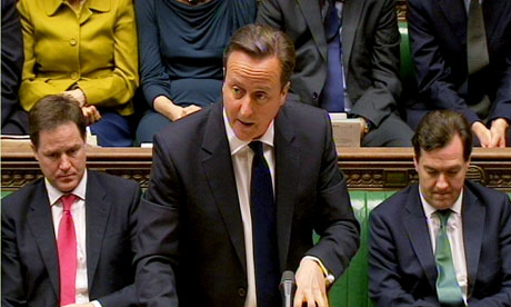 David Cameron at PMQs 16 May