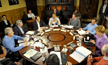 G8 Summit in Camp David