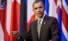Barack Obama speaks at Nato summit