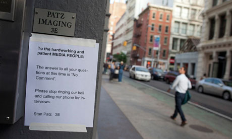 Etan Patz case: a note to the media signed by Stan Patz, Etan's father