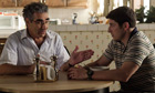 Eugene Levy and Jason Biggs in American Pie: Reunion