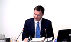 Jeremy Hunt at the Leveson inquiry: Ofcom 