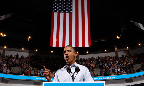 Barack Obama speaks in Columbus