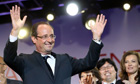 François Hollande, France's newly elected president