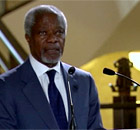 The joint UN and Arab League envoy for Syria, Kofi Annan