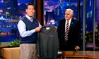 Rick Santorum and Jay Leno