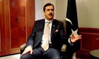 Yousaf Raza Gilani in London
