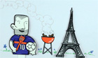 Euro 2012: France - an animated history - video