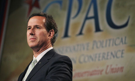 Santorum fears Ron Paul delegates 'looking for a platform fight'