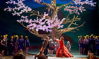 A scene from the opera The Cunning Little Vixen performed at Glynebourne