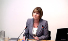 Harriet Harman tells the Leveson Inquiry cross-party consensus is needed for press - video