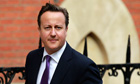 David Cameron arrives at the High Court in London