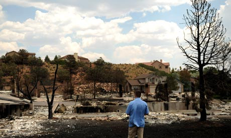 COLORADO WILDFIRES: CEDAR HEIGHTS GETS LUCKY AS RESIDENTS RETURN HOME