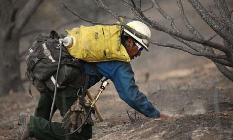 Colorado Springs wildfire