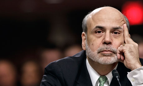 Ben Bernanke offers absolutely no sign of stimulus but states that Fed will certainly step in when needed