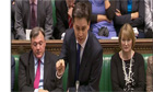 Ed Miliband teases David Cameron about his backbench rebellion during PMQ- video