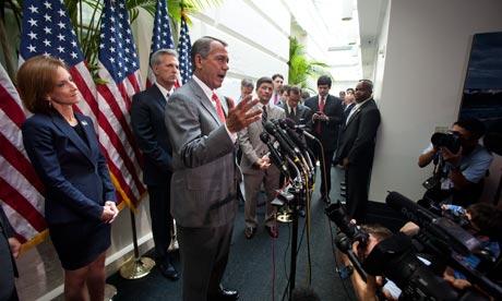 John Boehner's vote on the healthcare reform