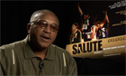 Gold-winning Olympian Tommie Smith talking about Salute