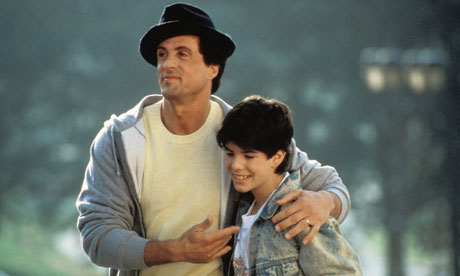 Sage Stallone in Rocky V. Photograph: Cinetext/United Artists/Allstar