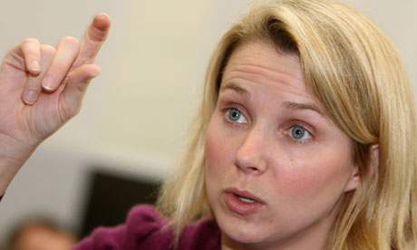 Marissa Mayer in 2008