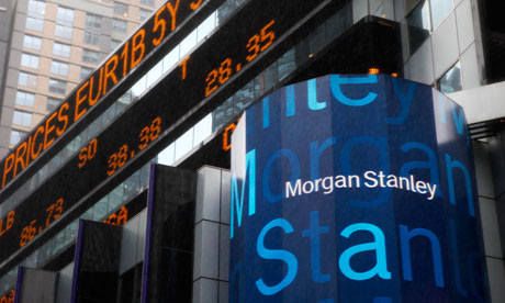 Morgan Stanley shares